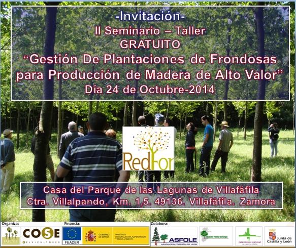 cartel jornada Villafafila 24 oct