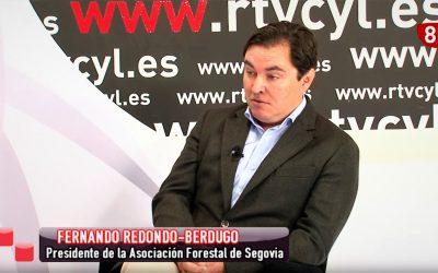 Entrevista a Fernando Redondo-Berdugo, Presidente de ASFOSE, en La 8 TV Segovia