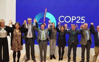 Fafcyle se adhiere a la DECLARACIÓN DE MADRID en el marco del Congreso del Clima 2019